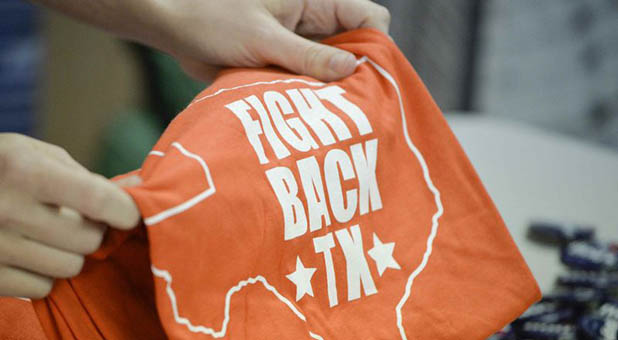 """Fight Back Texas"" T-Shirt"
