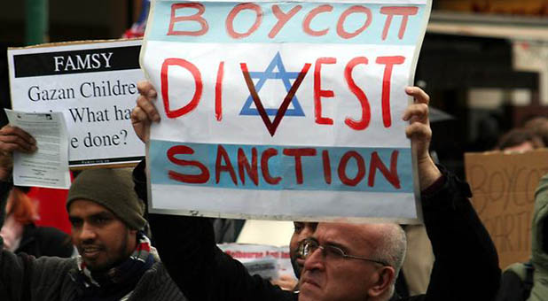 BDS Protesters