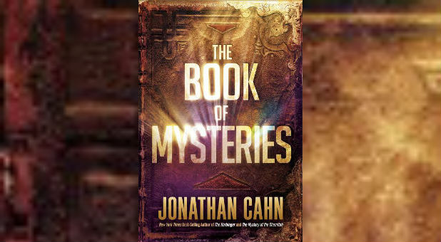 The cover of Jonathan Cahn's most recent book, 'The Book of Mysteries.'