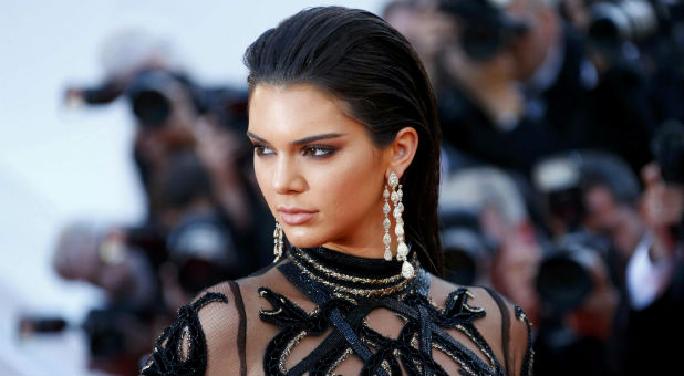 Model Kendall Jenner says she is a Christian.