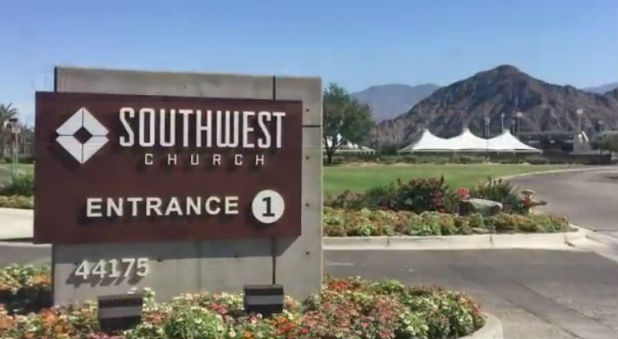 The pastor of Southwest Church resigned over his stance on gay marriage.