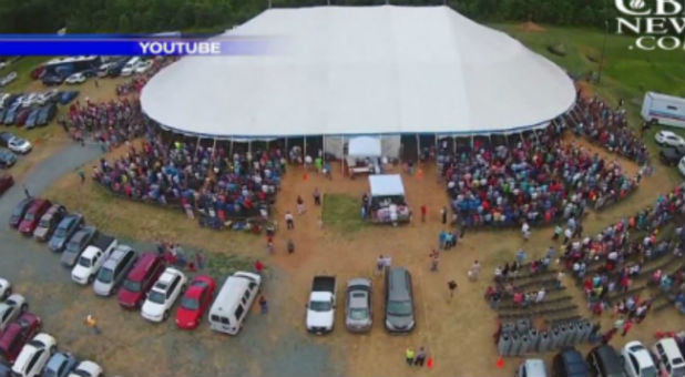 Burlington Revival & Big Tent Revival Seeing Salvations Rise Rapidly u2014 Charisma News