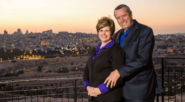 Cindy and Mike Jacobs in Israel