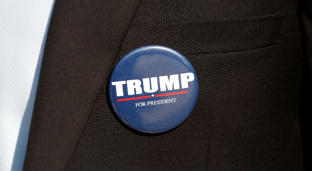 Reuters Trump Button donald trump key to isaiah 45 prophecy? charisma news