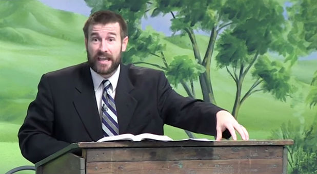Faithful Word Baptist Church Pastor Steven Anderson talks about being prohibited from entering South Africa in a video sermon posted online