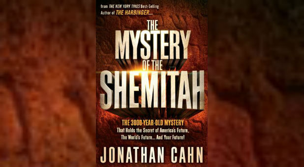 Jonathan Cahn's most recent book, 'The Book of Mysteries.'