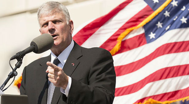 Franklin Graham has spent this year holding rallies at every state capitol, praying for the nation and its leaders and challenging Christians to be involved in the political process.