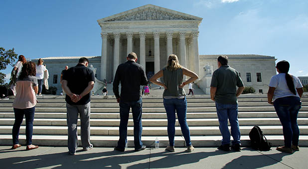 Pro-Life Activists at Supreme Court