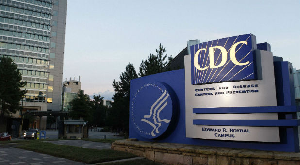 A general view of the Centers for Disease Control and Prevention (CDC) headquarters in Atlanta