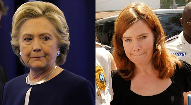 Hillary Clinton and Laura Silsby