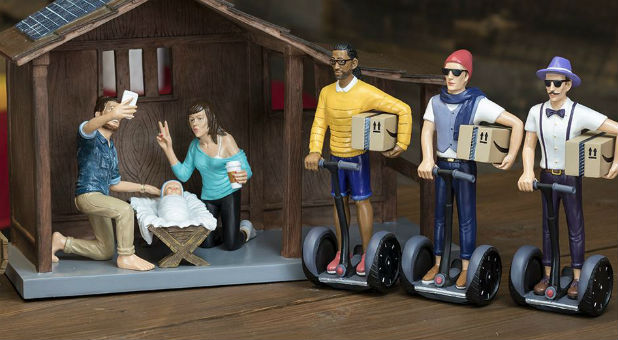 Is The Hipster Nativity Set Really That Offensive Charisma News - Hipster nativity set reimagines the birth of jesus in 2016