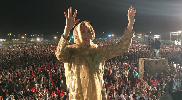 Marilyn Hickey preached to over 1 million people in Karachi, the largest city in Pakistan, earlier this month. The momentous meeting came during an eight-day missions trip to Pakistan. But that trip and the millions reached for Christ were the fruits of seeds planted years before.