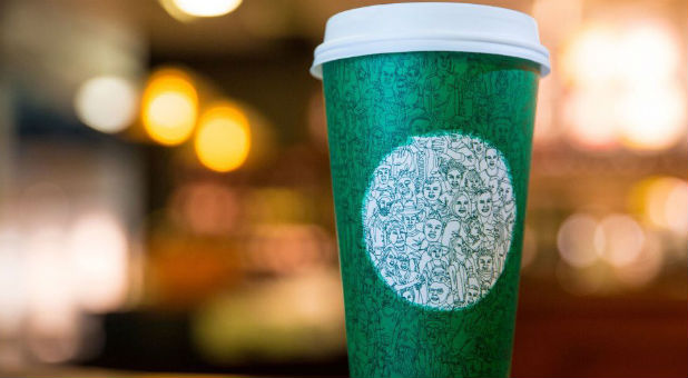 Starbucks' new holiday cup
