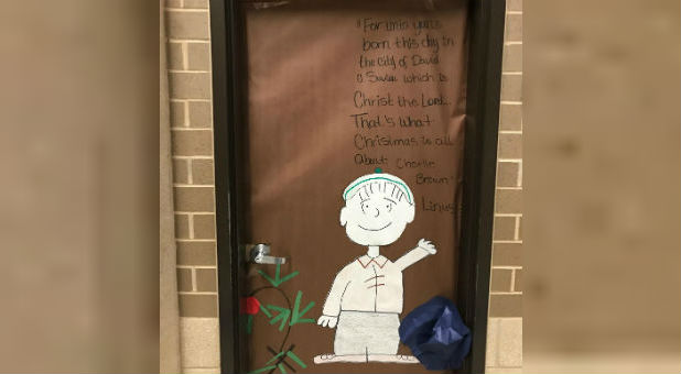 "Judge Jack Jones issued a temporary restraining order against the Killeen Independent School District. The district had backed a principal's decision to remove a Christmas poster that referenced a poignant scene in the beloved holiday cartoon, ""A Charlie Brown Christmas.'"""