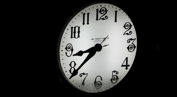 The International Earth Rotation and Reference Systems has deemed it necessary to insert a leap second on New Year's Eve. The goal is to bring the atomic clocks in sync with the earth's rhythm. Without a leap second, our time system would eventually blow up.