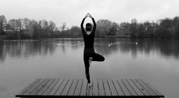 Ex-witch Beth Eckert says there is a link between yoga and Satan.