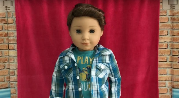 The new doll from American Girl, boy Logan Everett.