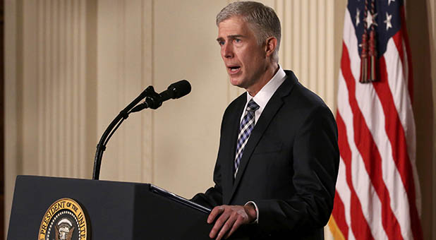 11th Circuit Court of Appeals Judge Neil Gorsuch