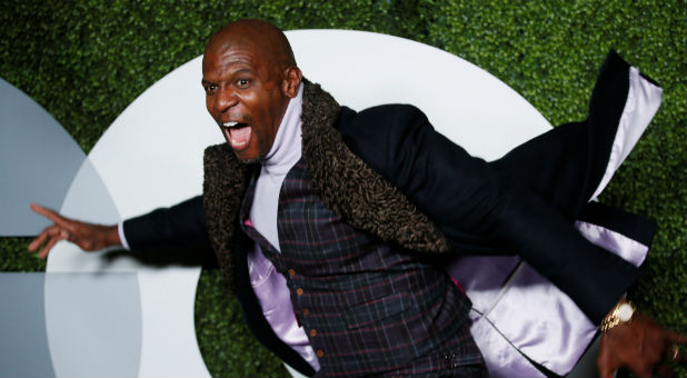 Terry Crews emceed the Movieguide Awards.