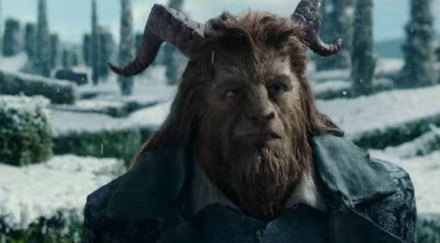 Dan Stevens as the Beast in 'Beauty and the Beast'