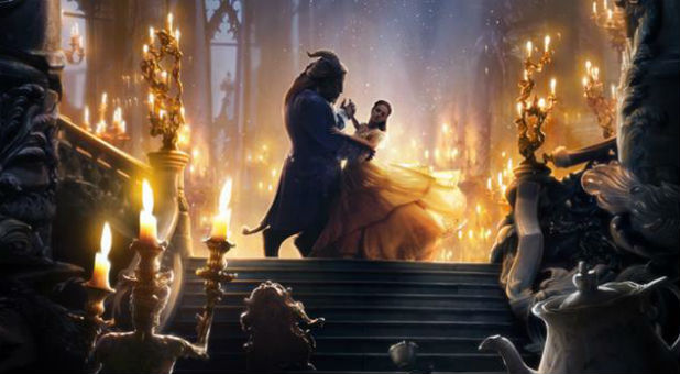 The 'Beauty and the Beast' poster