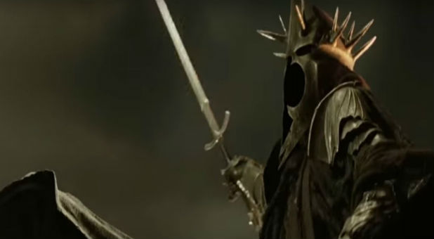In the Lord of the Rings by J.R.R. Tolkien, the Nazgul were fallen spirits, lords of death in service to the Dark Lord.