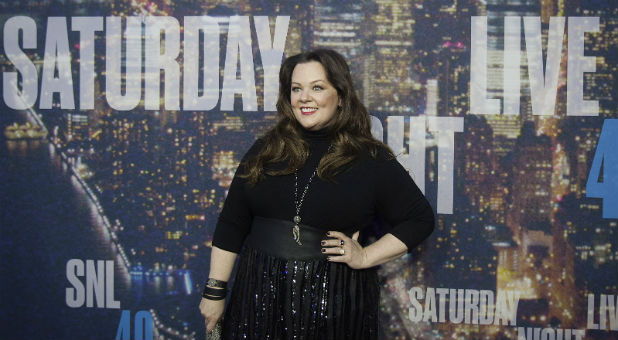 Comedienne Melissa McCarthy at an SNL event.