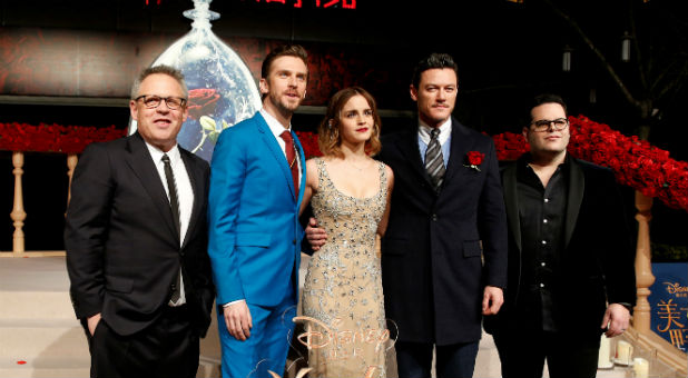 The 'Beauty and the Beast' cast