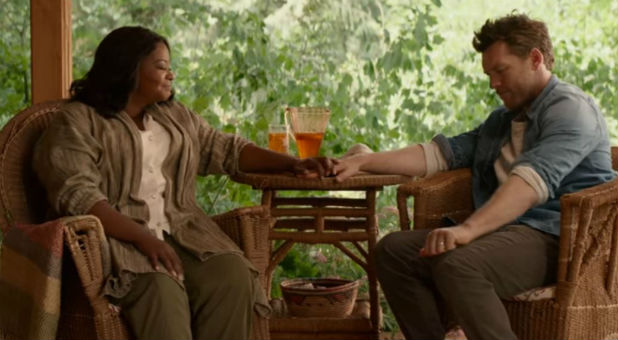 Octavia Spencer and Sam Worthingon in 'The Shack.'