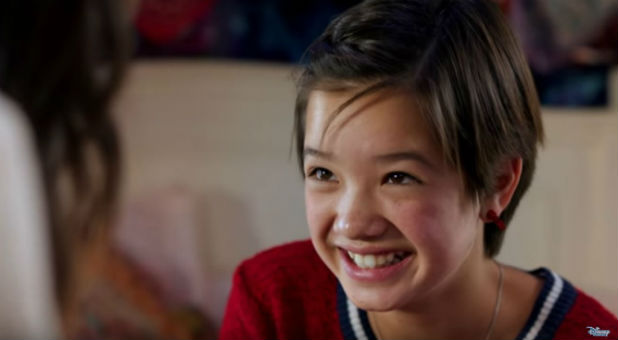 "A scene from ""Andi Mack."""