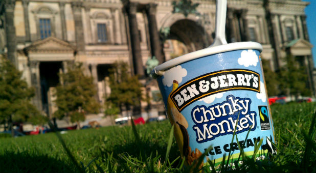 "This is Ben and Jerry's way of sending a message: ""We believe love comes in all flavors."""