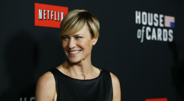 Robin Wright plays Claire Underwood in Netflix's 'House of Cards.'