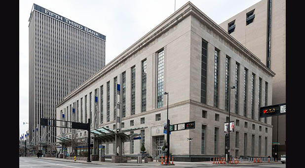 Potter Stewart Federal Courthouse in Cincinnati, Ohio