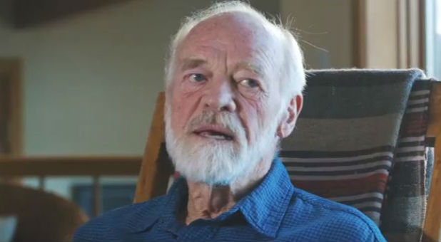Eugene Peterson says he supports a biblical view of marriage.