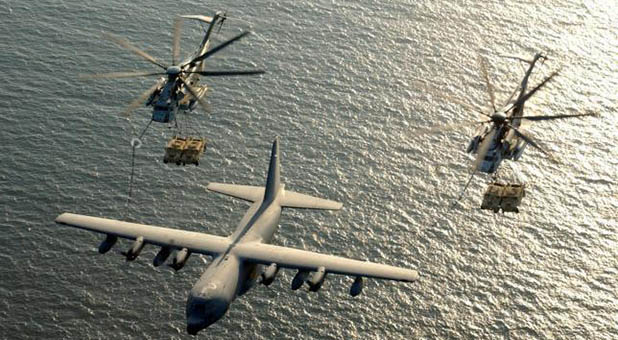 U.S. Military Mid-Air Refueling