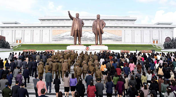 North Korea's Statues of Kim Il-sung and Kim Jong-il