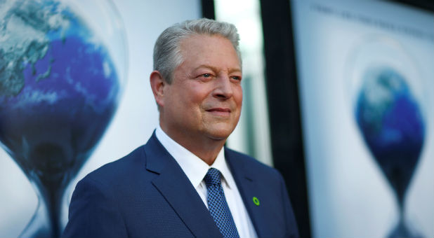 "Former U.S. Vice President Al Gore attends a screening for ""An Inconvenient Sequel: Truth to Power"" in Los Angeles."