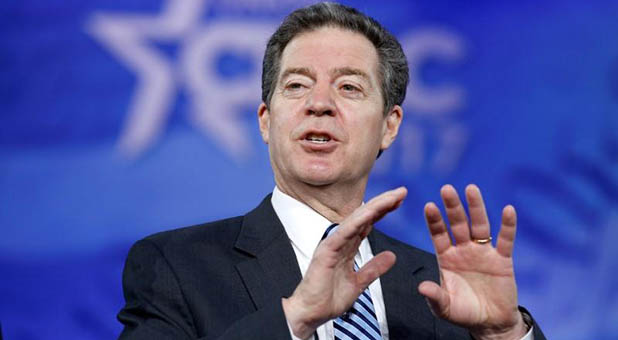 Kansas Gov. Sam Brownback