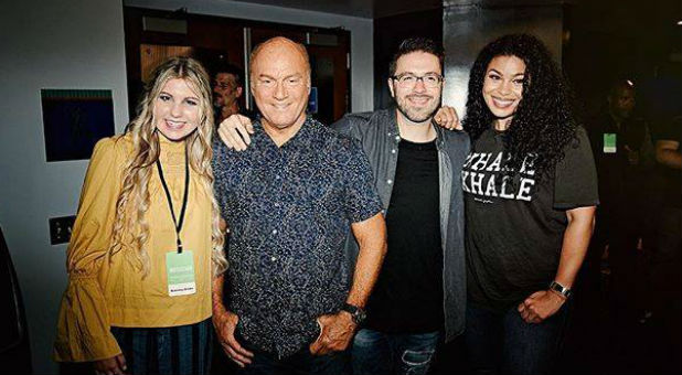 Brennley Brown, Greg Laurie, Danny Gokey and Jordin Sparks