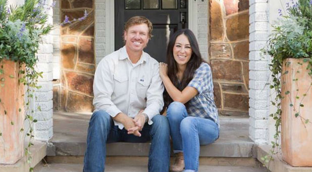 "Chip and Joanna Gaines of HGTV's ""Fixer Upper."""