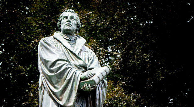 Reformation leader Martin Luther.