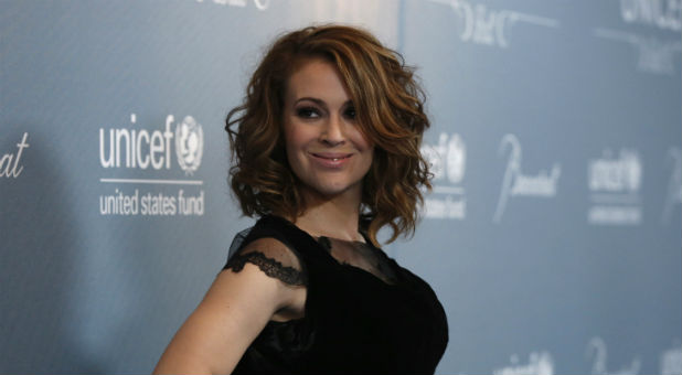 Actress Alyssa Milano.