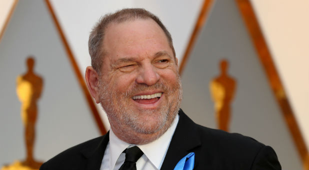 Hollywood exec Harvey Weinstein.
