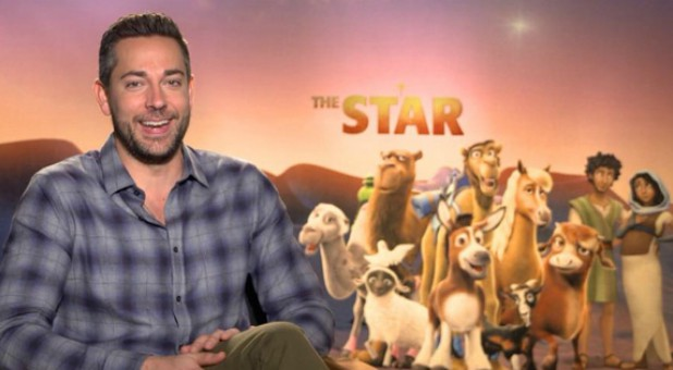 "Zachary Levi voices Joseph in ""The Star."""