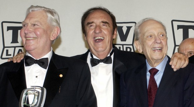 "Andy Griffith, Jim Nabors and Don Knotts, cast members in ""The Andy Griffith Show,"" in 2004."