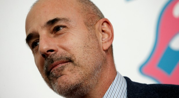 "Former ""Today"" host Matt Lauer."