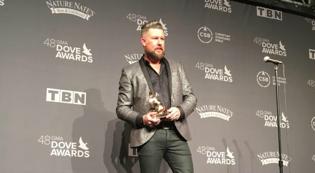Grammy-nominated singer Zach Williams.