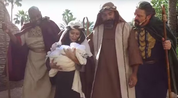 In 'Journey to Bethlehem,' you can witness the humble arrival of Mary and Joseph as they search for a place where the Savior of the world can be born.