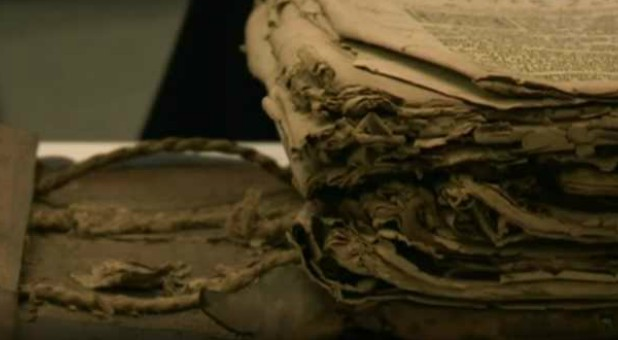 The incredible story of a 400-year-old Bible is set to be told at the National Library of Wales after the sacred book was discovered hidden away in the back of a church.