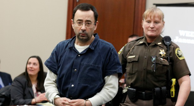 Larry Nassar, a former team USA Gymnastics doctor who pleaded guilty in November 2017 to sexual assault charges.
